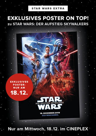 STAR WARS START: Poster on Top!