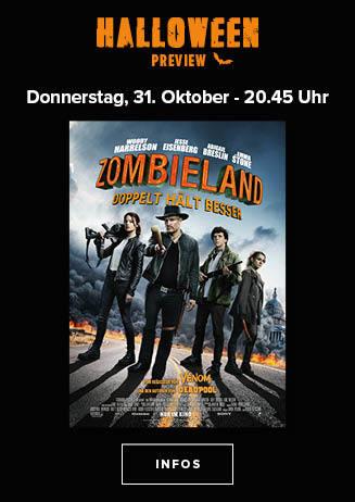 """191031 Special Halloween Preview """"Zombieland: Doppelt hält besser"""