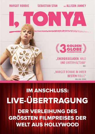 """I, Tonya"" + Live-Übertragung"