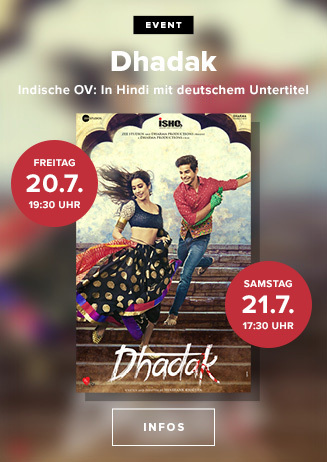"Indische Originalversion: ""Dhadak"""