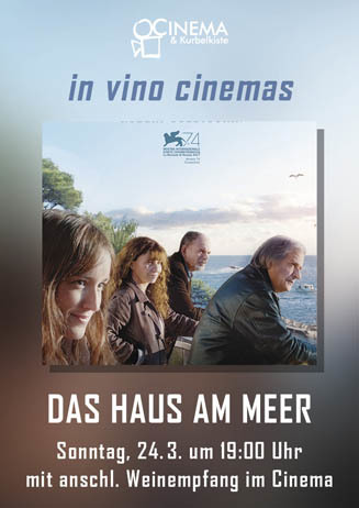 In vino cinemas: DAS HAUS AM MEER