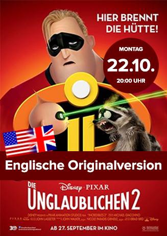"""Englische OV: """"Die Unglaublichen 2"""""""
