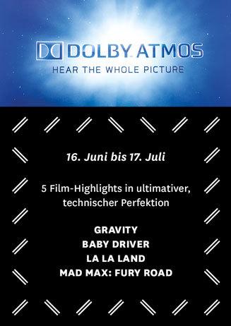 Dolby Atmos: 5 Filmhighlights im Juni und Juli
