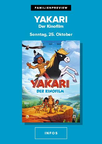 "Familienpreview: ""Yakari - Der Kinofilm"""