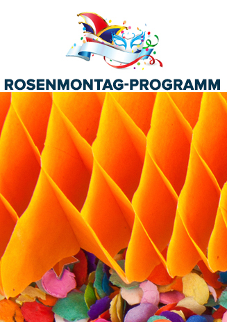 Rosenmontag-Programm
