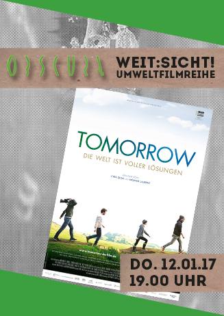 "Umweltfilmreihe Weit:Sicht! ""Tomorrow"""