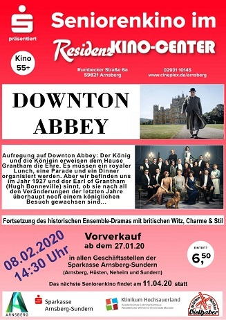 Seniorenkino: DOWNTON ABBEY