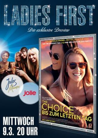Ladies First: The Choice