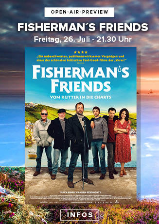 """190726 Preview """"Fisherman's Friends - Vom Kutter in die Charts"""""""