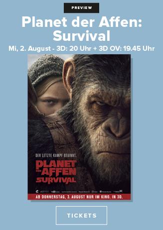 """170802 Preview """"Planet der Affen: Survival"""""""