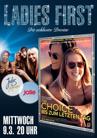Ladies First: The Choice - Bis zum letzten Tag