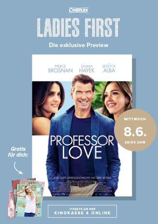 Ladies First: PROFESSOR LOVE