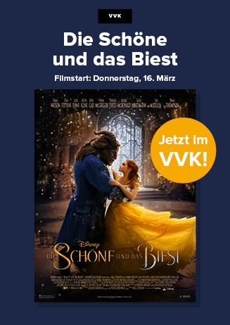 """170212 VVK """"Die Schöne und das Biest"""""""