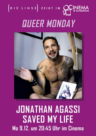 Queer Monday: JONATHAN AGASSI SAVED MY LIFE