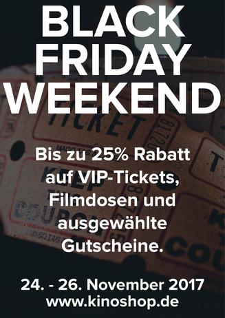 Black Friday Weekend 2017