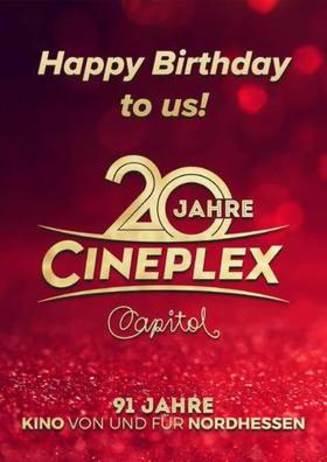 20 Jahre Cineplex Capitol