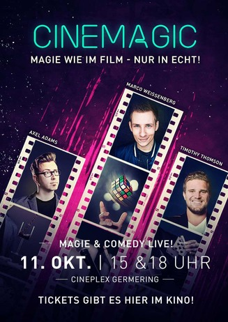 Cinemagic: Magie wie im Film - nur in echt!