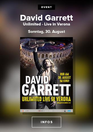 David Garrett - Unlimited - Live in Verona