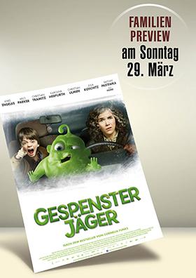 "Familienpreview ""Gespensterjäger-Auf eisiger Spur"""