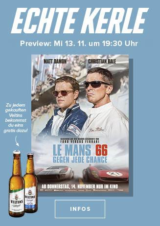 Echte Kerle Preview: LE MANS 66 - GEGEN JEDE CHANCE