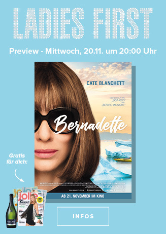 20.11. - Ladies First: Bernadette