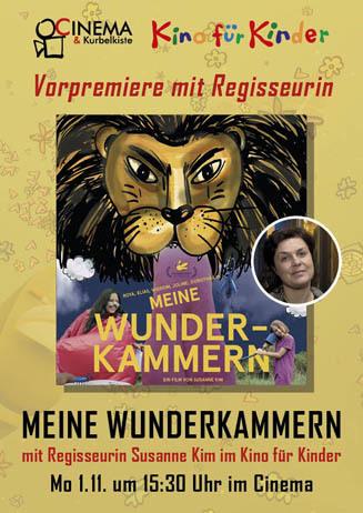 Vorpremiere mit Regisseurin: MEINE WUNDERKAMMERN