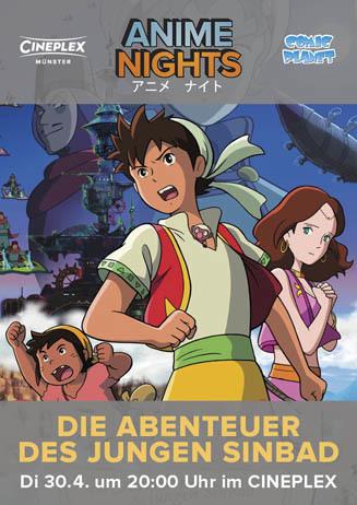 Anime: DIE ABENTEUER DES JUNGEN SINBAD