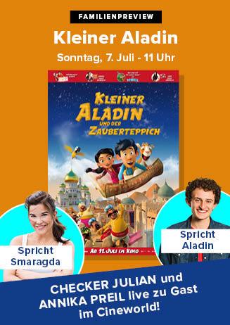 """190707 FamPrev+Starbesuch """"Kleiner Aladin und der Zauberteppich"""""""