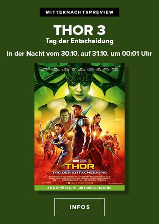 Mitternachtspreview: Thor - Tag der Entscheidung 3D