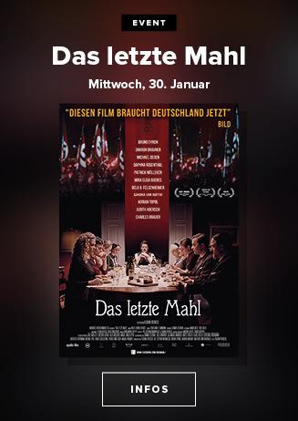 """""""Das letzte Mahl"""" am 30.01.2019 um 19.30 Uhr im Goslarer Theater"""