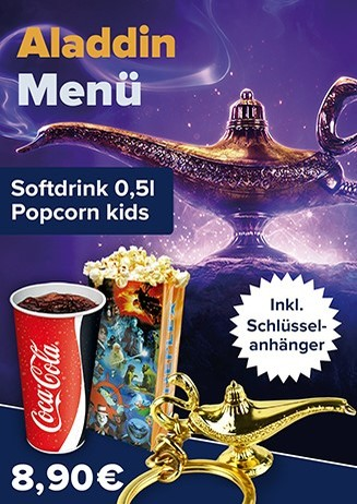 Aktions-Menü Aladdin
