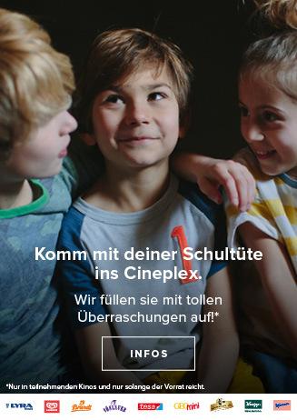 Cineplex-Einschulungsaktion in deinem Kinopolis Leverkusen!