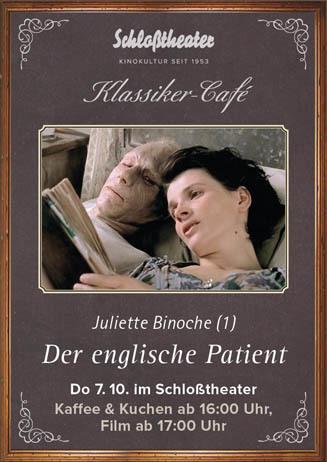 Klassiker-Café: DER ENGLISCHE PATIENT