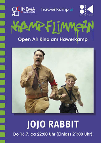 Kamp-Flimmern: JOJO RABBIT
