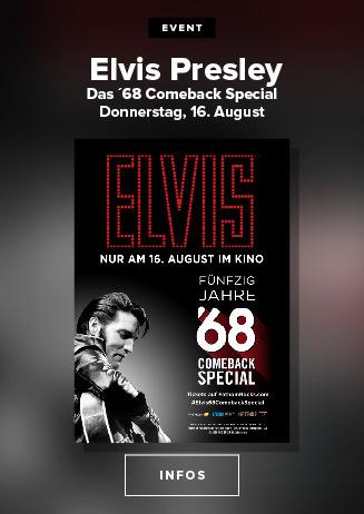 Elvis Presley - Das `68 Comeback, am 16.8.