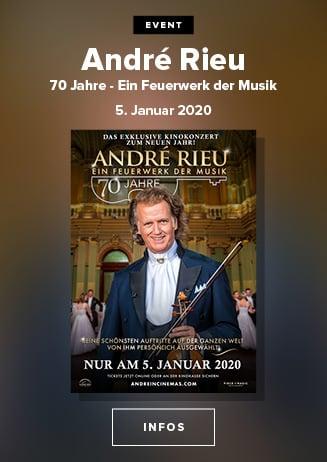 Klassik: André Rieu - 70 Jahre - Ein Feuerwerk der Musik
