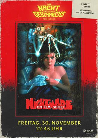 Die Nacht des guten Geschmacks: Nightmare on Elm Street