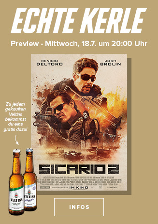 Echte Kerle Preview: Sicario 2