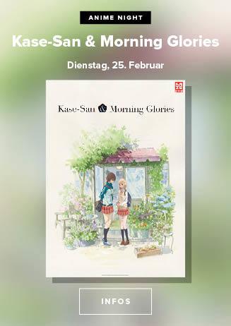Anime Night: Kase-San & Morning Glories