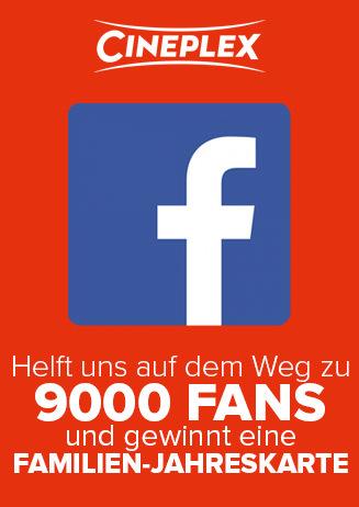 Facebook Verlosung - 9000 Fans