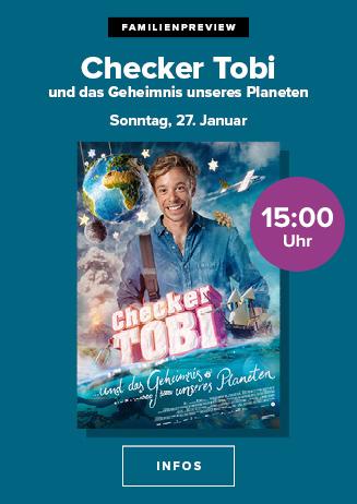 """Familienpreview: """"Checker Tobi und das Geheimnis unseres Planeten"""