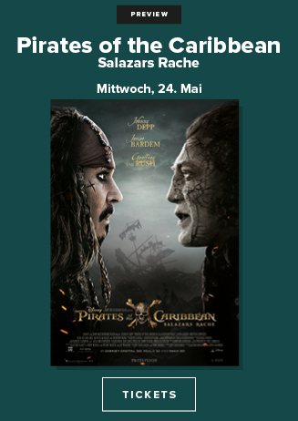 "Preview ""Pirates of the Caribbean: Salazars Rache"""