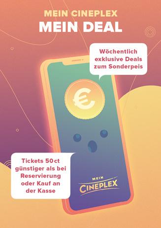 Mein CINEPLEX – Mein Deal