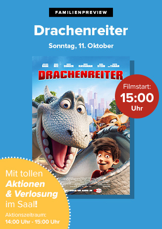 """Familienpreview: """"Drachenreiter"""""""