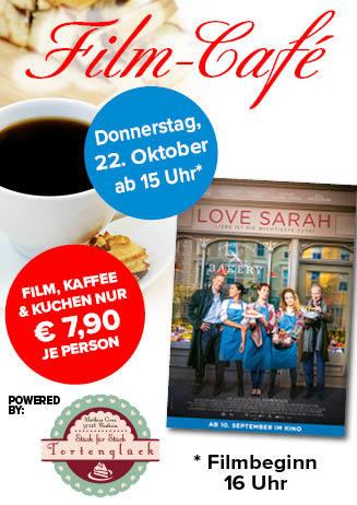 """201022 Film-Café """"Love Sarah - Liebe ist die wichtigste Zutat"""""""