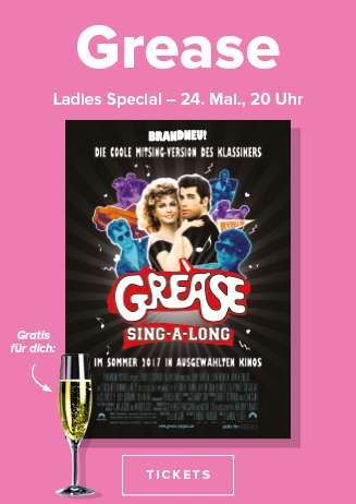 "Ladies Special: ""GREASE - SING A LONG"""