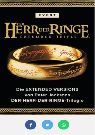 """""""Herr der Ringe"""" - Marathon"""