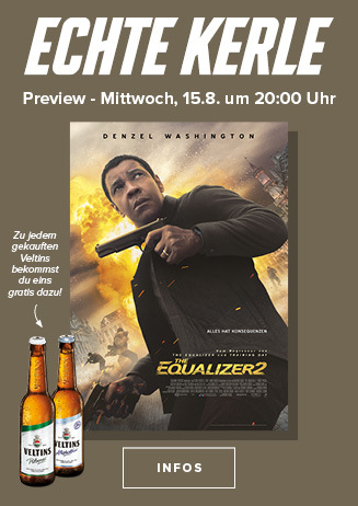 """Echte Kerle Preview """"The Equalizer 2"""""""