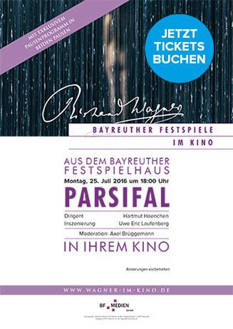"""Vorverkauf beginnt """"Bayreuther Festspiele - Parsifal"""""""