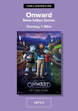 Familienpreview: ONWARD - KEINE HALBEN SACHEN